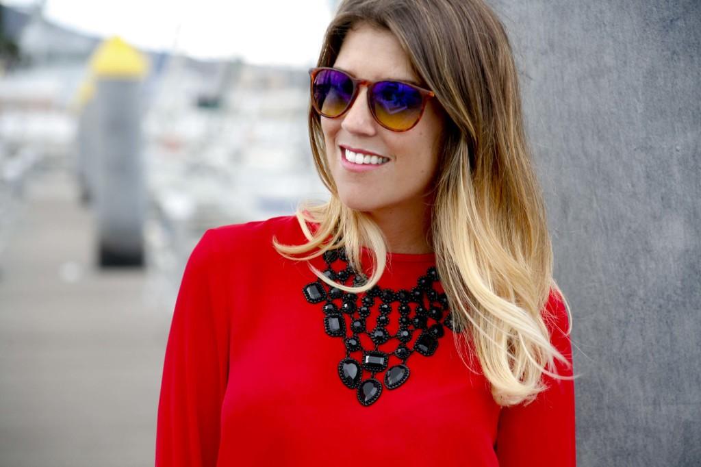 Marta Ibrahim - Rojo y, como no, B&W