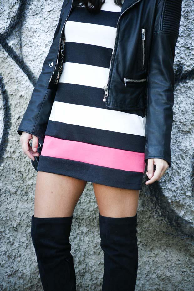 Marta Ibrahim BW Stripes & Pink 3
