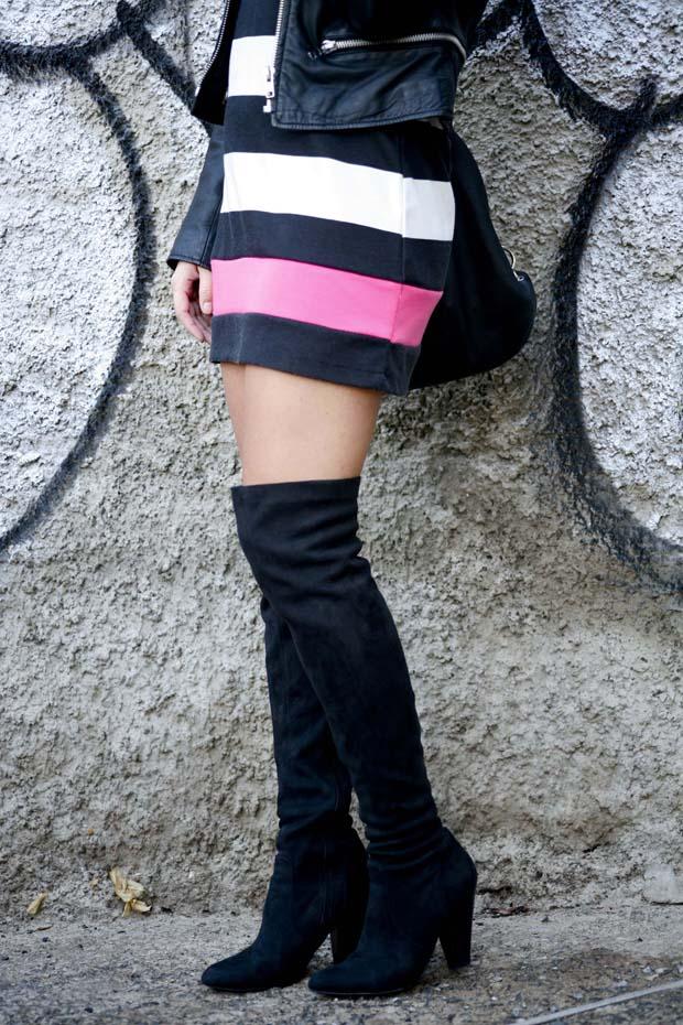 Marta Ibrahim BW Stripes & Pink 4