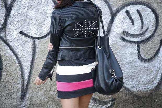 Marta Ibrahim BW Stripes & Pink 6