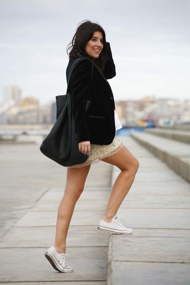 Marta Ibrahim - Blazer en terciopelo 7