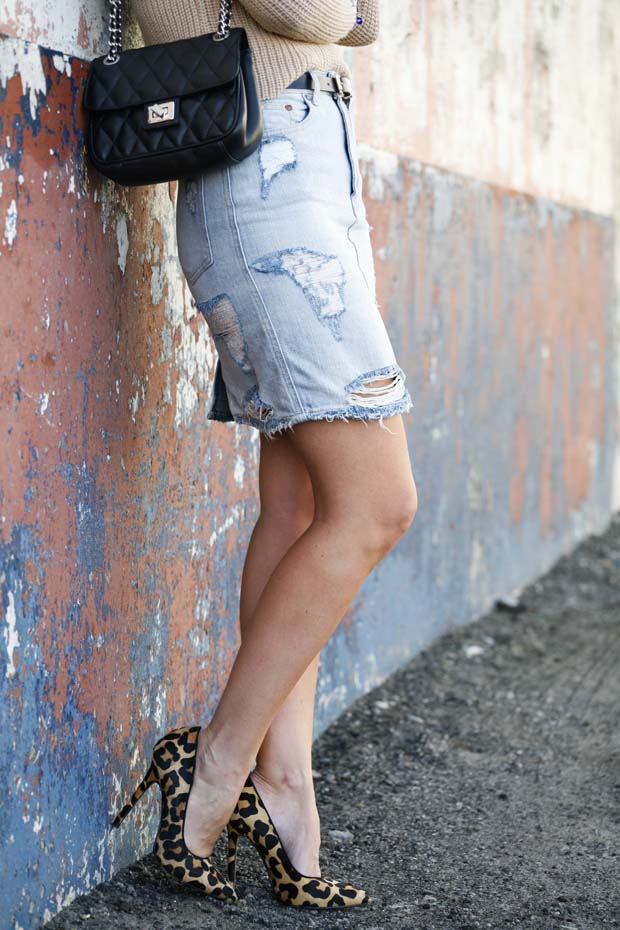 Marta Ibrahim - ripped skirt 2