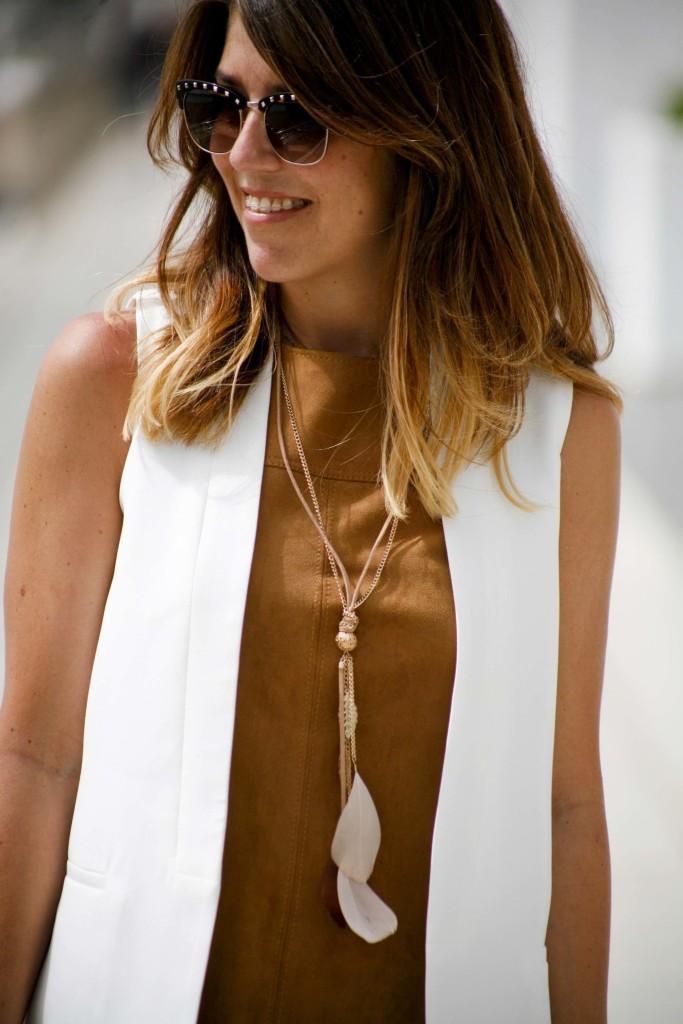 Marta ibrahim - white vest