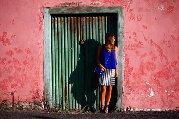 Marta-Ibrahim-stripes-skirt-1