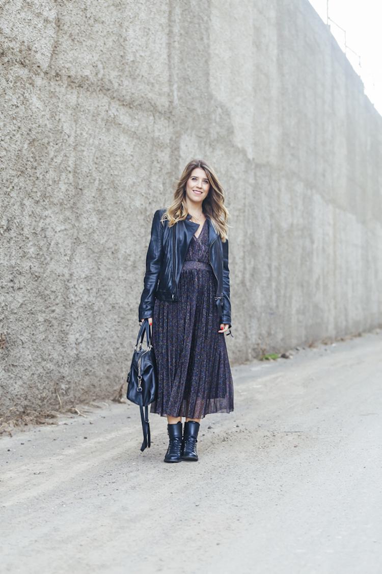 Colores Negro De Con Purpurina Vestido Plisado Marta • Ibrahim 2ED9WHIY