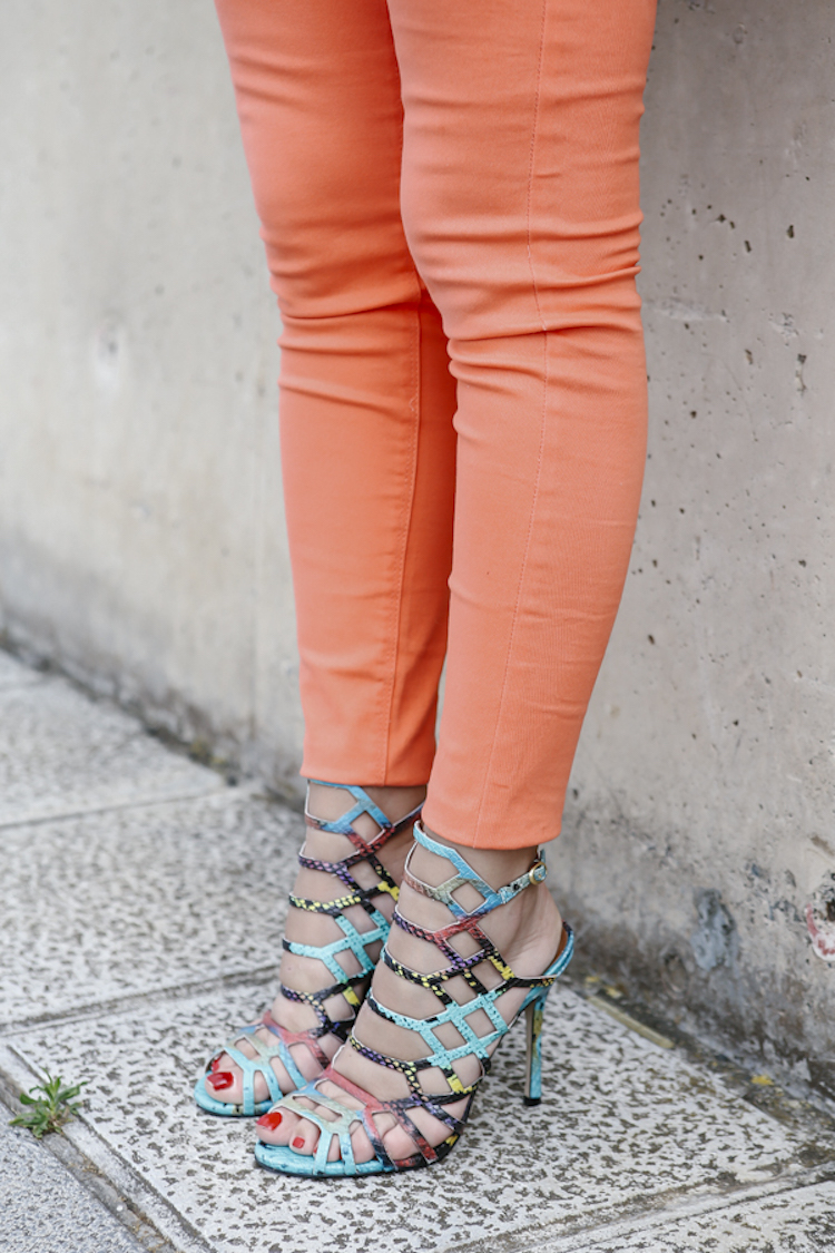 • Ibrahim Naranja Pantalones • Pantalones Marta Naranja SpUMVz